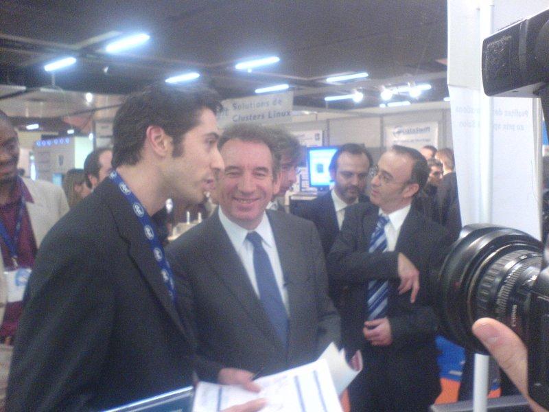 Francois Bayrou chez Anaska