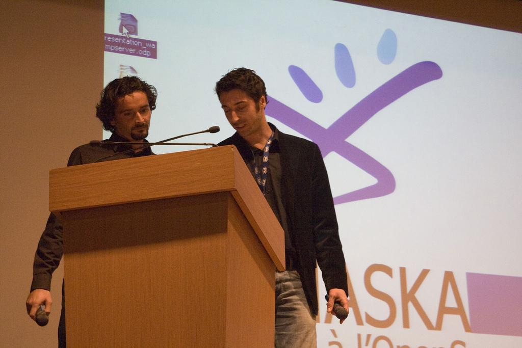 Cyril PIERRE, Romain BOURDON, Forum PHP 2007
