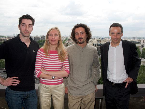 Romain BOURDON, Véronique TORNER, Cyril PIERRE de GEYER, Philippe MONTARGES